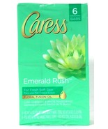 1 Caress 24 Oz Emerald Rush Gardenia & White Tea Floral Fusion Oil 6 Soa... - $21.99