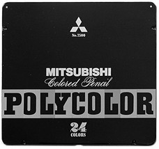 Mitsubishi Pencil Co., Ltd. colored pencil poly color No.7500 24 colors ... - $29.50