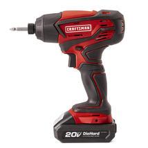 Craftsman CK202A 20V MAX Cordless Drill and Impact Driver Combo Kit - $89.95