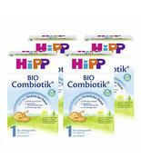 German HiPP 1 Combiotik-ORGANIC Baby Formula STAGE 1 (0-6 months) -4 BOXES- - $138.59