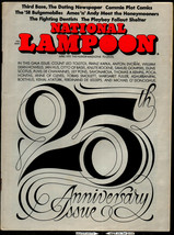 National Lampoon #25, April 1972 - 25th Anniversary issue - $12.00