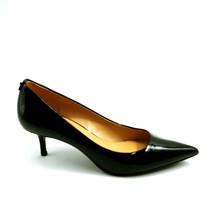 Michael Kors Womans Slip On Pumps Black Patent Leather Cushioned Insole Sz 8.5 M - $29.68