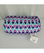 Comfort Bay Squeeze Bead Pillow Microbead Spandex Roll Neck Purple Blue ... - $39.59