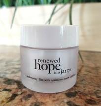 Philosophy Renewed Hope In A Jar Eye Cream Moisturizer Anti-Aging .5 Oz No Box - $18.79