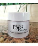 Philosophy RENEWED HOPE IN A JAR EYE Cream Moisturizer Anti-Aging .5 oz ... - $18.79