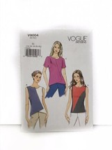 Vogue V9004 Misses Fitted Top Sewing Pattern - $15.83