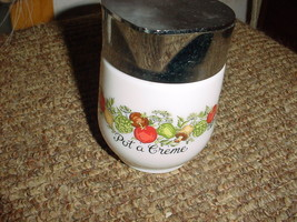 Pyrex Gemco Spice Of Life Creamer Or Syrup Pitcher Good Used Condition - $16.69