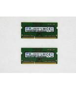 Samsung 1.35v Ddr3 LV 8gb 2x4gb Pc3-12800 1600MHZ Portátil Memoria Sodim... - $59.39