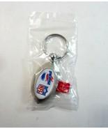 Diet Pepsi Cola NFL Football Shaped Flashlight Metal Keychain Key Ring ... - $12.99