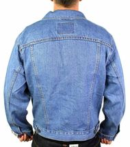 Levi's Men's Premium Classic Cotton Button Up Denim Jean Jacket 705070389 image 4