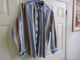 DKNY , Jeans ,  Men's Log Sleeve Shirt , XL , 82% Cotton , 18% Polyster - $34.65