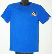 Quiksilver Logo Brand - Kids Tshirt Apparel Blue Shirt Youth Size 7 New - $3.66