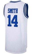 Smith #14 Bel-Air Academy Basketball Jersey Sewn White Any Size image 2