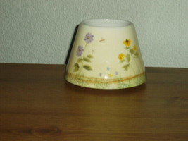 Home Interiors Wildflower Breeze Candle Shade Homco - $7.00