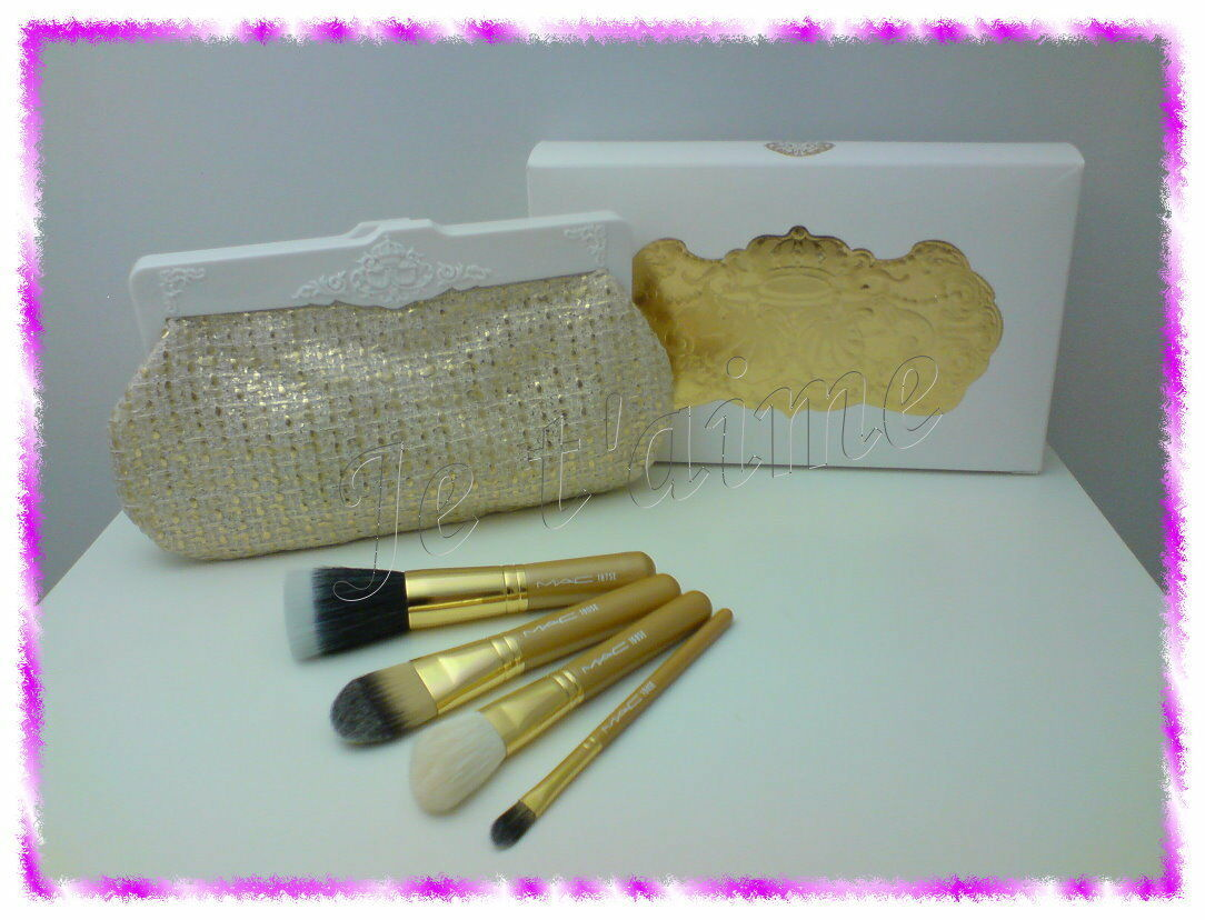 Primary image for RARE MAC Heirlooms Collection: 4 Face Brushes Set, 168/187/190/194SE NO BOX