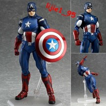 Figma 226 The Avengers Captain America PVC Action Figure New In Box - $28.99