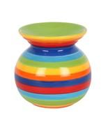 Rainbow Stripe Oil, Wax  & Candle  Burner - $13.80