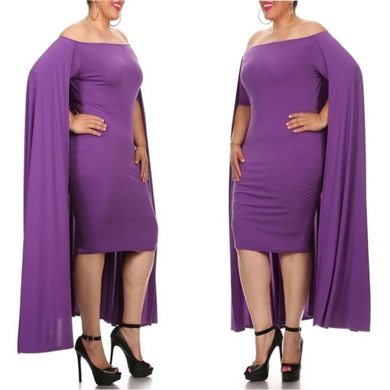 plus sized cape dress/baby shower dress/party dress at Bling Brides Bouquet