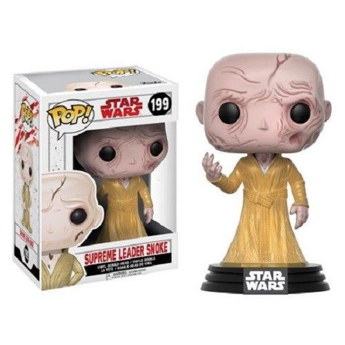 Funko Pop Star Wars The Last Jedi Supreme Leader Snoke