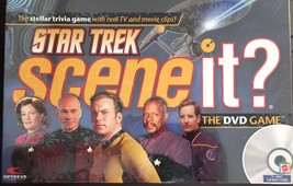 Star Trek Scene It? DVD Game with Real TV and M... - $29.95