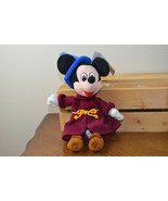 Mickey Mouse Fantasia Sorcerer Disney Store Mini Bean Bag Beanie Plush D... - $12.70