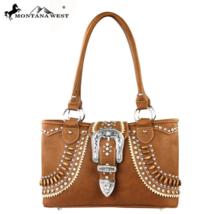 Buckle Collection Montana West Satchel Handbag NEW! image 1