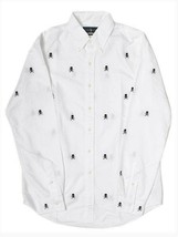 Polo Ralph Lauren Skull and Crossbones Classic Fit Oxford Shirt  NWT    ... - $55.46