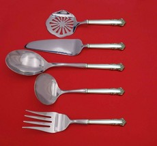 English Shell by Lunt Sterling Silver Thanksgiving Serving Set 5pc Custom Made - $359.00