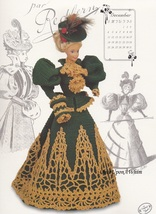 Miss December 1994, Annie's Gibson Girl Crochet Doll Clothes Pattern Boo... - $3.95