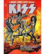 KISS Rock Band / Marvel Comic Book Stand-Up Display - Blood Makeup Music - $16.99