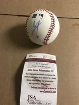 Autograpged Vince Neil Official Baseball JSA Light Signature Motley Crue... - $92.57