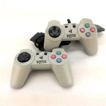 Lot 2 Superpad PS1 Controllers PSX 1000 Sony Playstation 1 Pair P.S.X. Set - $16.65