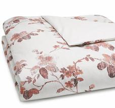 Sferra Barletta F/Queen Duvet Cover in Brick Floral Cotton Percale New - $259.90