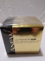 Avon Anew Ultimate Night Gold Emulsion Extra Rich Emulsion-NEW-SEALED In Box - $39.59