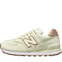 New Balance Mujer 574 Zapatos Cómodos Crudo - $176.49