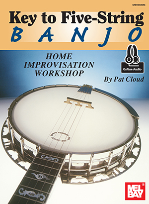 Primary image for Key To 5 String Banjo Home Improvisation Workshop/W/Online Audio/