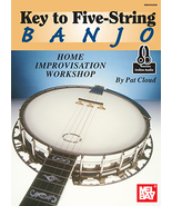 Key To 5 String Banjo Home Improvisation Workshop/W/Online Audio/ - $17.99