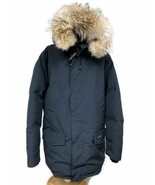 Canada Goose Langford Parka Coat Jacket In Navy Winter Coyote Fur Trim 2... - $625.59