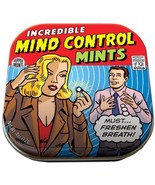 Incredible Mind Control Mints in Illustrated Tin Box .4 ounces, NEW SEALED - $5.94