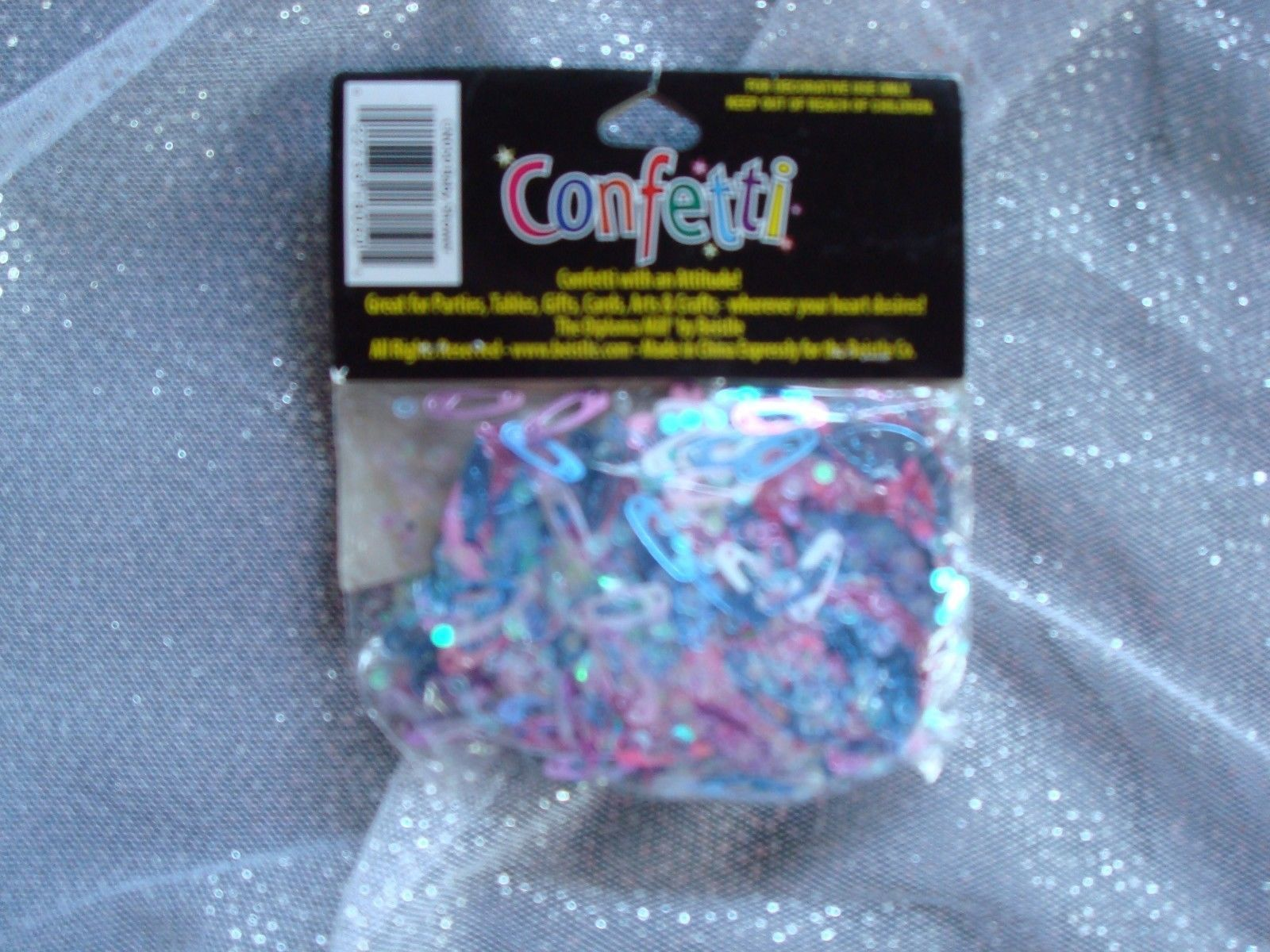Gender Reveal Baby Shower Confetti; Gender Reveal Decorations; Table Confetti