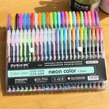 Set Bolígrafos De Gel De 36/48 Colores Brillantes Para La Escuela Y El T... - $20.78+