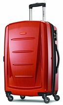 "28"" Expandable Spinner Luggage Polycarbonate Rolling Suitcase TSA Lock O... - $195.61"