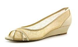 Nina Women's Rigby,Gold/Platino Satin/Glitter,US 7.5 M 37.5 Eur - $29.69