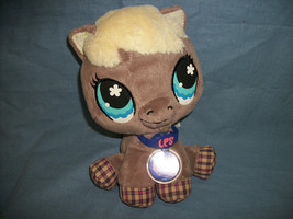 """Littlest Pet Shop Hasbro LPS Plush Brown Horse / Pony with Tags 9"""" - $9.78"""