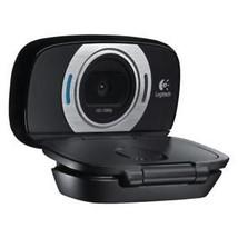 N Logitech HD Webcam C615 Portable 1080p with Autofocus for PC & Mac - $53.57