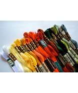 DMC EMBROIDERY FLOSS ASSORTMENT - 100 Colors Genuine Made in France, FRE... - $59.39