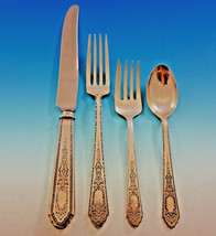 Mary II by Lunt Sterling Silver Flatware Set for 6 Service 26 pieces - $1,550.00