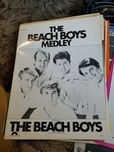 BEACH BOYS MEDLEY Sheet Music 1981 Pop #12 Hit 8 songs 14 pages Brian Wi... - $17.81