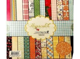 Fancy Pants 12x12 Hopscotch Cardstock Paper Pad #1561