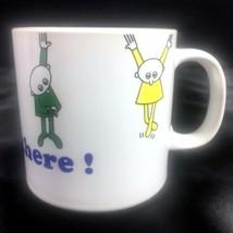 Russ Berrie Hang In There Coffee Tea Mug Ireland Encouragement Job Health School - $11.99